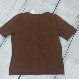 Pendleton Sweaters - Pendelton Short Sleeve Cardigan